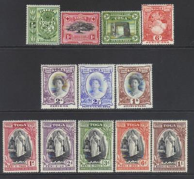 Tonga 1897-1944 Small Mh Selection Cat £25+