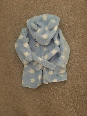 Baby Boy 0-6 Month Dressing Gown