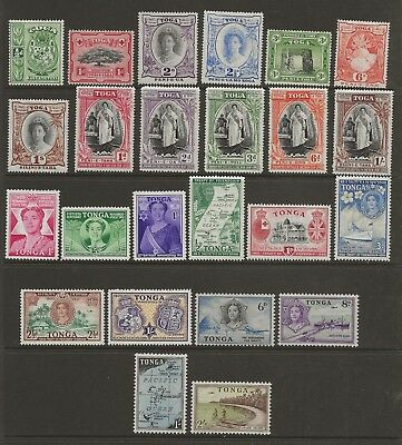 Tonga  Sel.of Mint Needed For Gvi Collections Between Sg 74 & 111  Fine Mint
