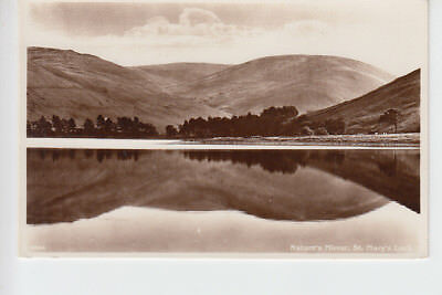 Nature's Mirror at St Mary's Loch, Selkirkshire