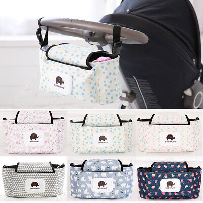Universal Baby Trolley Storage Bag Stroller Cup Carriage Pram Buggy Organizer