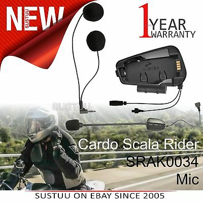 Cardo Scala Rider Microphone / Mic Audio Kit│For Freecom 1 2 3 4 Helmet Intercom
