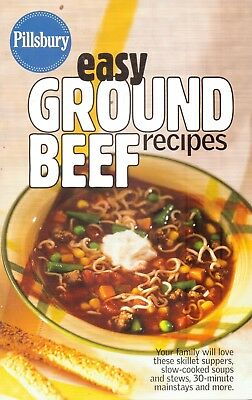 Pillsbury-Easy Ground Beef Recipes-35 Pages-2006