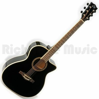 Eko NXT 018 CW EQ Black Acoustic Guitar