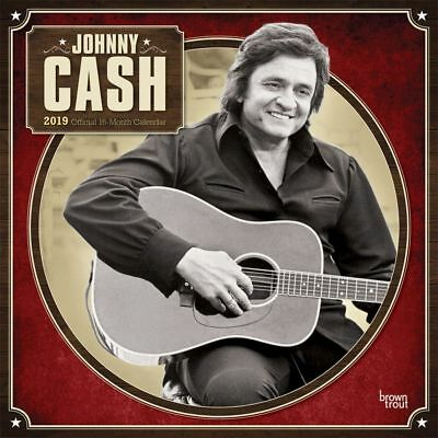2019 Johnny Cash Wall Calendar, Country Music by BrownTrout