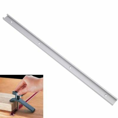 600mm Alloy T-track T-slot Miter Track Jig Fixture Woodworking Tool Router Table