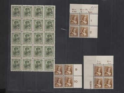 211 BGL Luxembourg - Caritas Henri VII & Charlotte lovely OFFICIEL MNH stamps