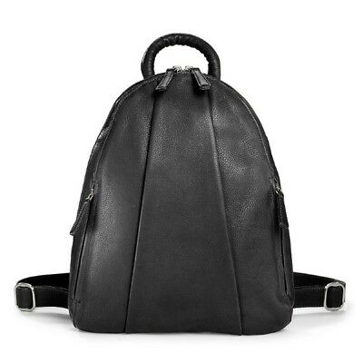 Levenger Marley Teardrop Backpack-Black