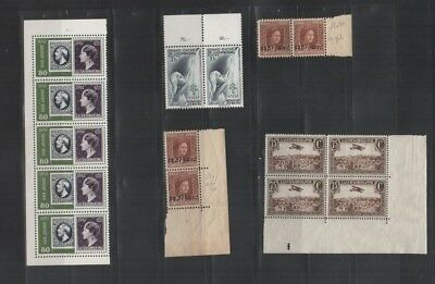 233 BGL Luxembourg - Caritas Charlotte & AIR MAIL Poste Aerienne MNH stamps