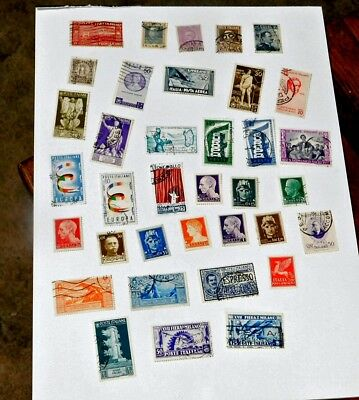 Lot of stamps from Italy    Lot  7