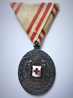 Austro - Hungary Empire WWI , Red Cross Medal
