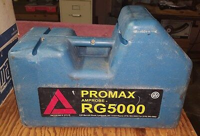 Amprobe ProMax RG5000 Refrigerant Recovery Machine HVAC, Used, Works Great!