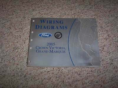 2005 Mercury Grand Marquis Electrical Wiring Diagram Manual GS LS LSE 4.6L V8