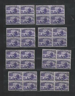 245 BGL Luxembourg - 1935 Intellectual Intellectuels USED stamps genuine cancels