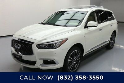 Infiniti QX60  Texas Direct Auto 2016 Used 3.5L V6 24V Automatic AWD SUV Moonroof Premium