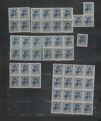 265 BGL Luxembourg - Luxemburg G.D. Charlotte OFFICIEL lovely MNH stamps