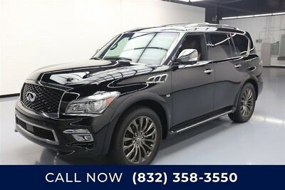 Infiniti QX80 Limited Texas Direct Auto 2017 Limited Used 5.6L V8 32V Automatic AWD SUV Moonroof Bose