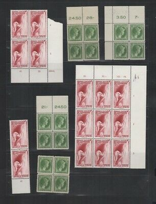 278 BGL Luxembourg - Luxemburg G.D. Charlotte & Mondorf-les-Bains MNH stamps