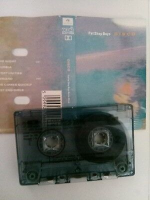 Pet Shop Boys - Disco - MC - Musikkasette - Tape - Cassette