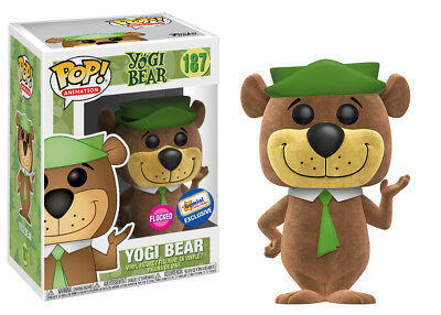 Funko Pop Hanna Barbera Flocked Yogi Bear Gemini Exclusive Vinyl Figure