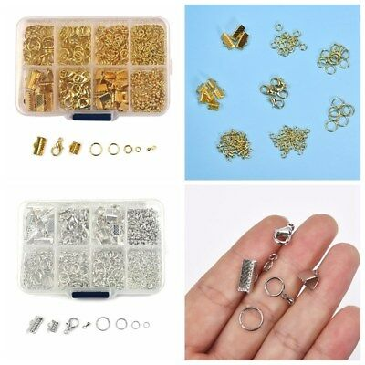 1 Box Mixed Jump Ring/Lobster Clasp/Clip Buckle/Pendant for Jewelry DIY Making