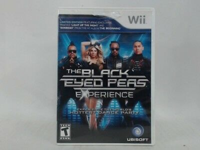 Black Eyed Peas Experience Wii Complete Cib Acceptable