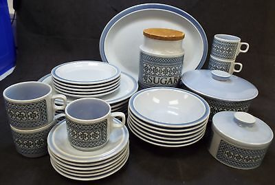 Vintage HORNSEA 33 Pieces Tapestry Tableware Made In England - I05