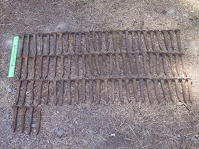 45 Old Railroad Spikes Nails