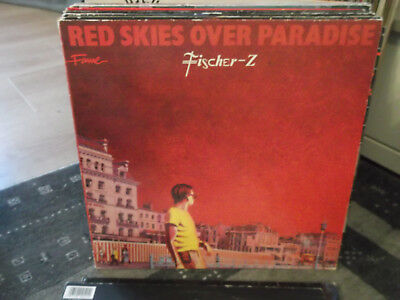 Fischer-Z: Red Skies over Paradise, Liberty-LP, FAME-Ausgabe mit FAME-Innenhülle