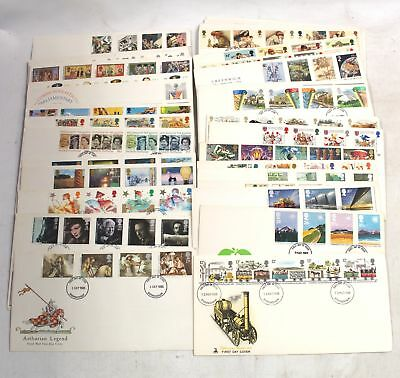 Collection Of Vintage British FIRST DAY COVERS 1980 - 1987, Collectible - B10