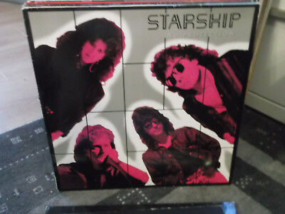 Starship: No Protection-LP+Text-Innenhülle, RCA-LP