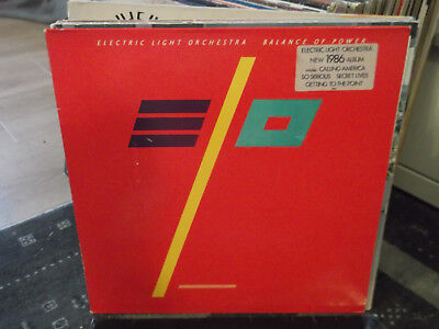 ELO-Electric Light Orchestra: Balance of Power-LP+Text-Innenhülle, Jet-LP