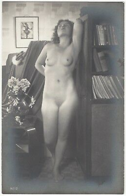 1920 French NUDE Photograph - Youthful Deco Blonde