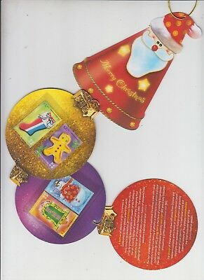 Hong Kong Christmas stamps 2007 on tree decorations in original post office pack