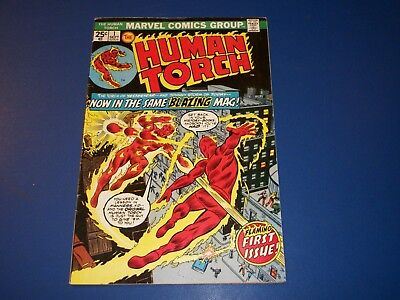Human Torch #1 Bronze Age Key Issue Wow vs Golden Age Torch