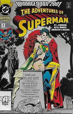 The Adventures of Superman Annual No.3 / 1991 Armageddon 2001 / Bryan Hitch