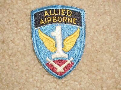 WWII 1 Allied Airborne Army Patch