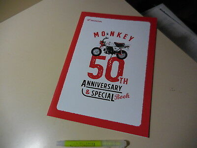 Honda MONKEY 50th Anniversary CHROME Japanese Liturature 2017 JBH-AB27 AB28E