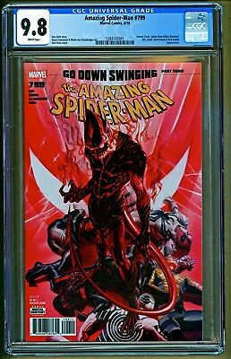 Amazing Spider-Man #799 (2018 Marvel Comics) Red Goblin appearance CGC 9.8