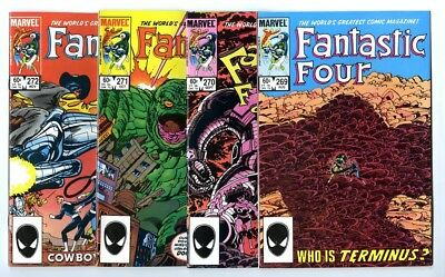 Fantastic Four #269,270,271,272 Avg NM New Marvel Bronze Copper Collection