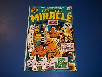 Mister Miracle #4 Bronze age 1st Big Barda Key Wow