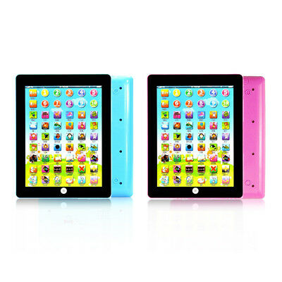 Teach Toy Tablet Pad Computer For Children Kid Learning English Educational Gift