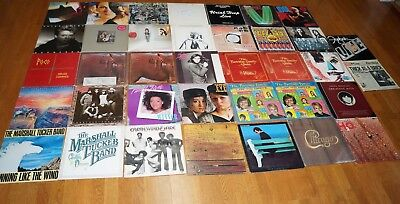 Classic Rock VINYL Record Album Lot OF 37 LPs GREAT COLLECTION ARTISTS