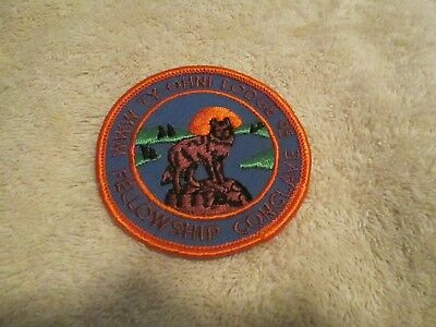 old 70's lodge 95 ty-ohni felloeship conclave patch