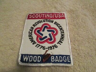 1976 bicentenial woodbadge patch