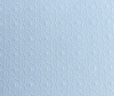 VERY NICE Dollhouse Miniature White Embossed Decorative Ceiling Paper #WCPP96