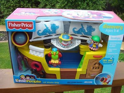 Fisher Price Little People Lil Pirate Ship - New - New