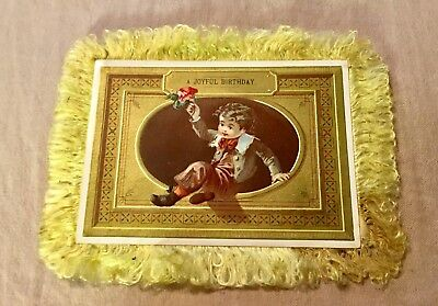 Postcard Double Sided FEATHER EDGED RAPHAEL TUCK