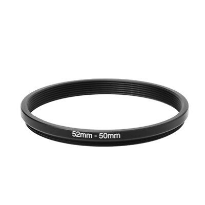 52mm To 50mm 52 To 50 52-50 Metal Step Down Filter Lens Ring Stepping Adapter