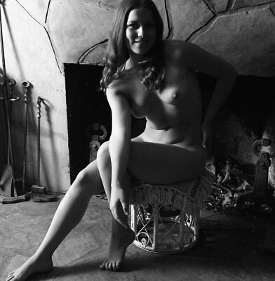 1960s Ron Vogel Negative, gorgeous nude pin-up girl Becky Pearl, t911126